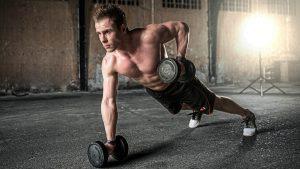 tipos de ejercicios de flexiones