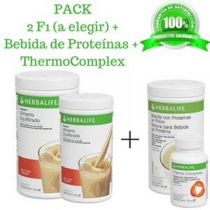 Compra BARATO aqui tu PACK de 2 Batidos Proteina + Termogenico