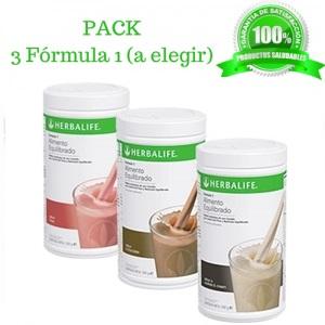 Pack 3 Batidos muy economicos Herbalife